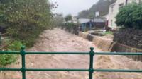 Flooding Isle of Man