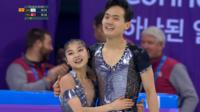 Taking a moment of history in their stride' - North Korean duo through to next round