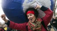 COP21 demonstration in Paris