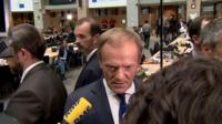 Donald Tusk says new leaders will be as consistent as the current team