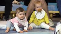 Babies watching opera