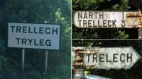 Trellech, Tryleg, Trelech or Trelleck? Why one Welsh is spelt in so many different ways.