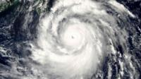 Typhoon Meranti Satellite