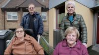 Englsih and German couples who need social care