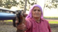 Parkashi Tomar is India's oldest shooting champion