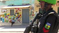Policeman in Mogadishu