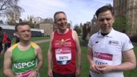 Alun Cairns, Nick Smith and Chris Evans