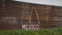 Мексиканский городок Тихуана