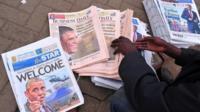 Kenyan newspapers