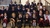 St. Mary's Catholic Primary School pupils