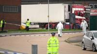 As work begins to identify bodies found in a lorry in Essex, locals say people scattering from lorries happens regularly.