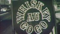 A sign outside Brisbane's Whiskey Au Go Go nightclub in 1973