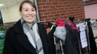A coat gift scheme has been set up to help a town's homeless people.
