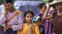 ရှမ်းမြောက်မှာလက်ရှိဖြစ်ပေါ်နေတဲ့တိုက်ပွဲတွေကြောင့် လားရှိုးမြို့ပေါ်ကိုထွက်ပြေးလာရတဲ့ စစ်ဘေးရှောင်အချို့