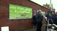 The chief executive of Belfast Health Trust has said the diagnoses of new cancers could be delayed due to industrial action by health workers.