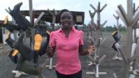 The BBC's Anne Soy reports from a medical facility in Monrovia