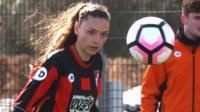 Bournemouth girls train