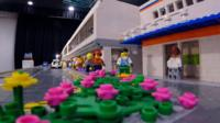 Brick Wonders exhibition: Airport