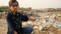Zymal Umer has been dubbed Pakistan's 'youngest entrepreneur'. Could her bag-making skills help clean up the country's growing waste problem though?