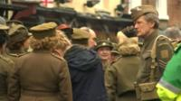 Dad's Army filming