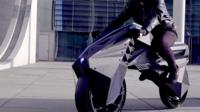 BigRep's 3D-printed electric motorbike