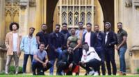 Black male Cambridge students