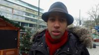 "A Christmas market trader, who witnessed the lorry attack which left 12 people in Berlin dead, says people have to still ""live Christmas as it's supposed to be""."