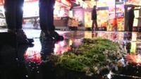Floral tributes to Ankara victims