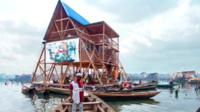 Floating school designed by Kunle Adeyemi