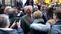 Prince Charles in Pontypridd