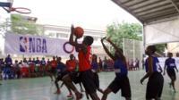Nigerian basketball players