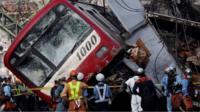 Japan train crash