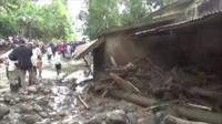 Scene of destruction in Bukalasi