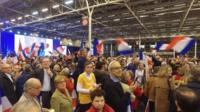 Francois Fillon rally