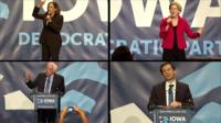 It takes a lot to stand out in a crowded Democratic field. So how did candidates do in Des Moines?