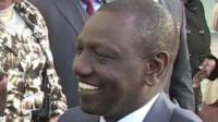Former Kenyan deputy Prime Minister, William Ruto