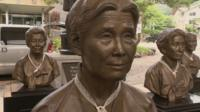 Statues of 'comfort women'