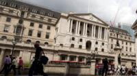 Bank of England on London's Threadneedle Street