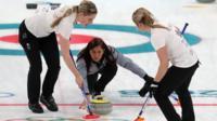 Team GB women curlers