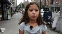 A child in New York