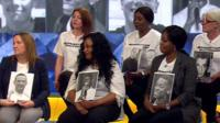 Women who have lost their sons to knife crime tell Victoria Derbyshire about the pain it has caused.