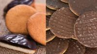 Jaffa Cakes and Chocolate Digestives
