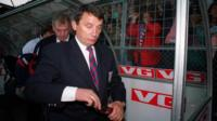 The day Graham Taylor resigned as England boss