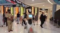 Robot policeman in Dubai