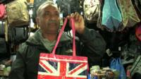 Tony runs a market stall in London