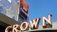 Crown in Melbourne