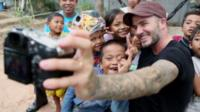 David Beckham as goodwill ambassador