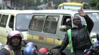 Nairobi commuters