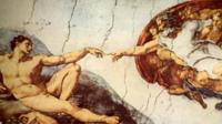 Michelangelo 'Creation of Adam'