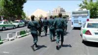 Полиция в Тегеране